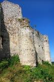 Fördärvar av slotten i Mirow Arkivbild