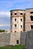 Fördärvar av slotten Krzyztopor, Polen royaltyfria bilder