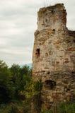 Fördärvar av slotten Pnivskyy Arkivfoton