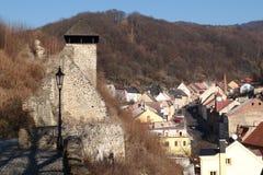 Fördärvar av slottet Arkivfoto