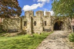 Fördärvar av St Marys AbbeyYork, UK Royaltyfri Fotografi