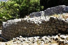 Fördärvar av stenen fotografering för bildbyråer