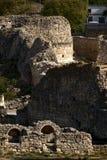 Fördärvar av Tauric Chersonese i Sevastopol arkivbilder