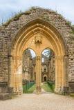 Fördärvar av Villers den devant Orval kloster i Belgien Royaltyfria Foton