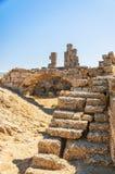 Fördärvar den forntida östliga nekropolen för sidan arkivbild