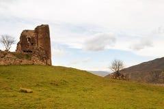 Fördärvar den forntida kyrkan på Georgia Fotografering för Bildbyråer