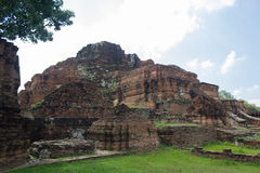 Fördärvar den gamla pagoden Royaltyfri Foto