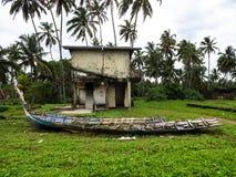Fördärvar från tsunami royaltyfri foto