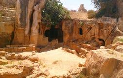 Fördärvar i Cypern Arkivbild