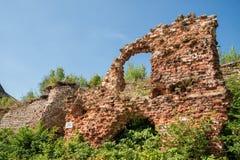 Fördärvar i fästningen Oreshek Royaltyfri Bild