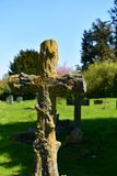 Fördärvar kyrkliga St Andrew, Walberswick UK, Royaltyfri Foto
