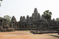 Fördärvar och tempel av Angkor Wat cambodia skördar siem Royaltyfri Bild