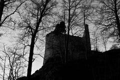 Fördärvar och tornet Arkivfoton