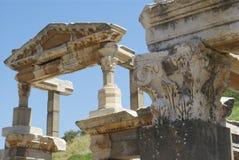 Fördärvar på Ephesus Royaltyfri Foto
