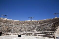 Fördärvar på Kourion, Cypern Royaltyfri Foto
