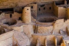 Fördärvar på Mesa Verde Royaltyfri Bild
