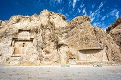 Fördärvar på Persepolis den historiska staden, Shiraz, Iran September 12, 2016 Royaltyfria Bilder