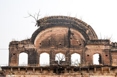 Fördärvar Rajasthan, Indien Arkivbild
