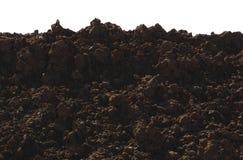 Fördärvar Ryssland Sibirien röda Clay Fantastic Martian Terrain royaltyfri bild