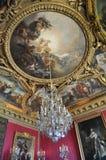 fördärvar salongen versailles royaltyfria foton