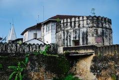 Fördärvar stenstaden, Zanzibar royaltyfria foton