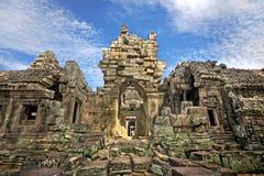 fördärvar tempelet Arkivbilder