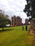 fördärvat slott arkivfoto