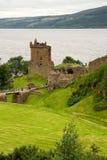 fördärvat slott royaltyfria bilder