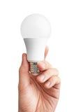 Förd lampa för ljus kula Arkivfoto