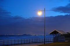 Förde von weiter von der Pfeife, Schottland, am Dunkelwerden Lizenzfreie Stockbilder