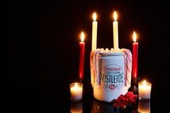 Fördela något juljubel Royaltyfri Fotografi