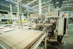 Förderer in der Druckmaschine Lizenzfreie Stockfotos