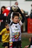 Förderndes Turnier des Jugendrugbys Stockbild