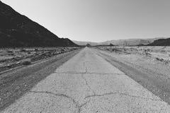 Fördjupning och tomhet i svartvitt arkivbilder