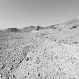 Fördjupning och tomhet i svartvitt fotografering för bildbyråer