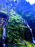 fördubbla vattenfallet Royaltyfri Bild