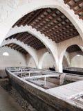 Före detta-Stabilimento Florio, Favignana, Sicilien, Italien Royaltyfria Foton