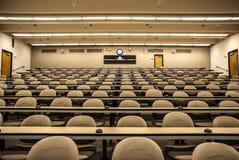 Föreläsning Hall Classroom Arkivbild