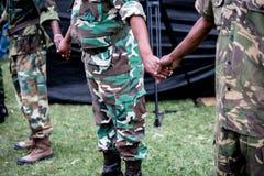Förena Afrika Fotografering för Bildbyråer