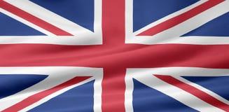 förenad flaggakindgom Royaltyfria Bilder