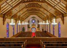 förenad kyrklig metodist Arkivbild