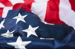 förenade Amerika flaggatillstånd Royaltyfri Foto