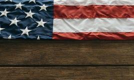 förenade Amerika flaggatillstånd Arkivbild