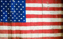 förenade Amerika flaggatillstånd Arkivfoto