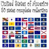 förenade Amerika samlingstillstånd Royaltyfria Bilder
