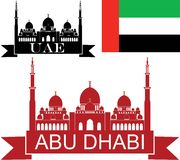 förenade arabiska emirates royaltyfri illustrationer