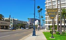 förenade Beverly Hills tillstånd Arkivfoto
