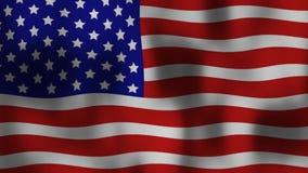 förenade flaggatillstånd stock illustrationer