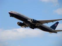 förenade flygplanflygbolag Fotografering för Bildbyråer