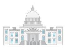2009 förenade höstcapitoltillstånd royaltyfri illustrationer
